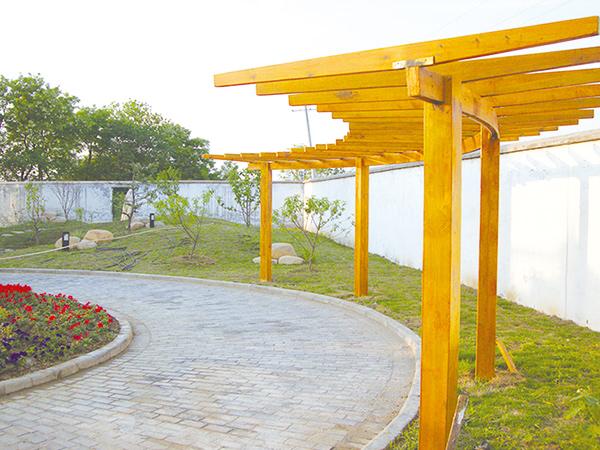 郭庄私家别墅庭院绿化项目