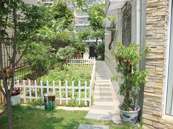 海德卫城别墅庭院绿化项目