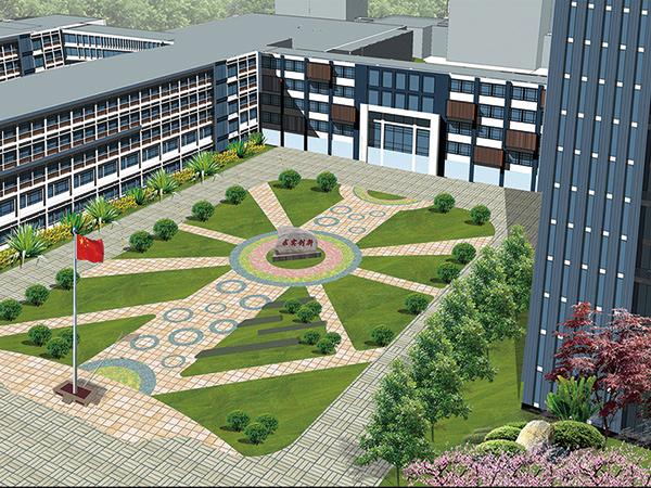 南京财经学校校区景观绿化项目