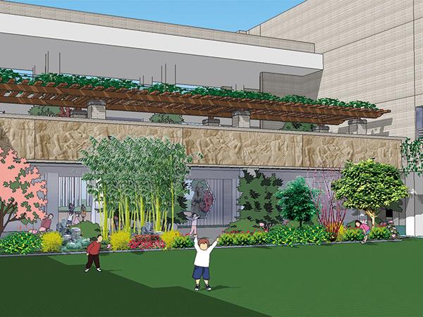 汇文小学校区景观绿化项目