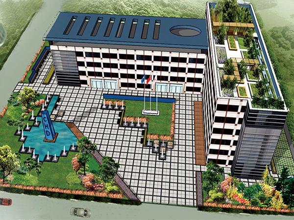 江苏华电仪征热电厂区绿化项目