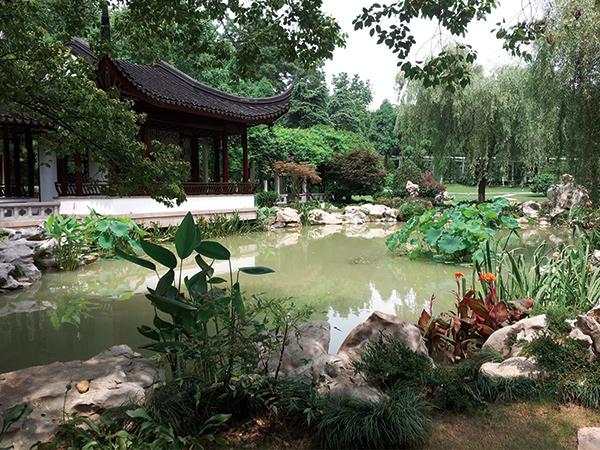 江苏省委机关大院景观改造项目